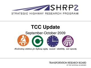 TCC Update September-October 2009