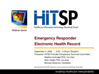 Emergency Responder Electronic Health Record