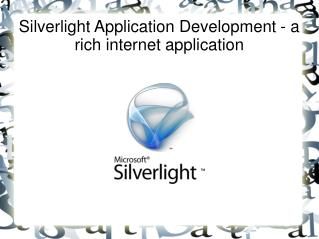 Silverlight Application Development