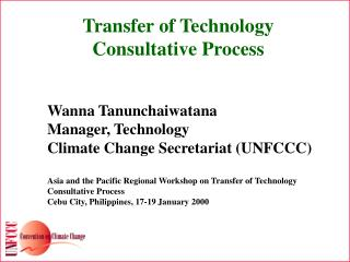 Transfer of Technology Consultative Process