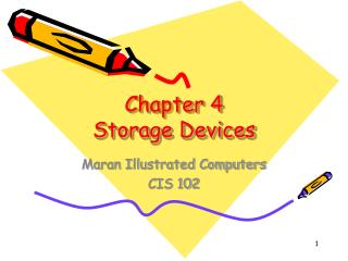Chapter 4  Storage Devices