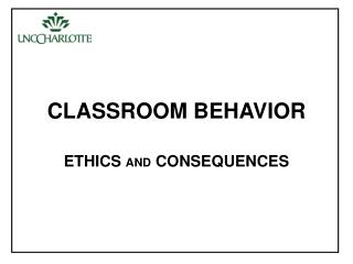 CLASSROOM BEHAVIOR