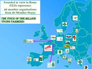 Founded in 1958 in Rome CEJA represents  26 member organisations from 2 0  Member States