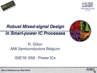 Robust Mixed-signal Design in Smart-power IC Processes
