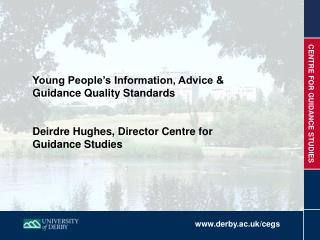 Young People's Information, Advice & Guidance Quality Standards
