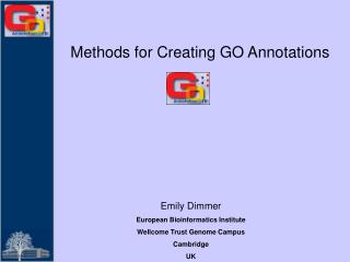 Methods for Creating GO Annotations