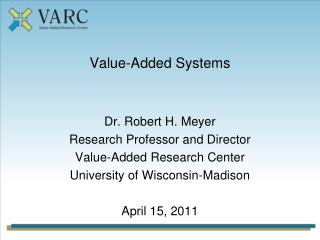 Value-Added Systems