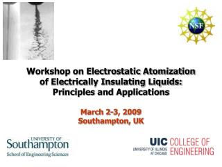 Workshop on Electrostatic Atomization  of Electrically Insulating Liquids: