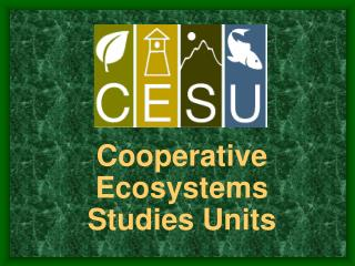 Cooperative Ecosystems Studies Units