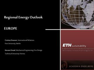 Regional Energy Outlook EUROPE