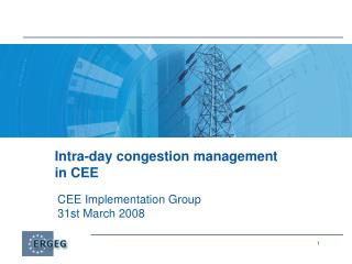 Intra-day congestion management in CEE