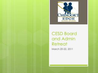 CESD Board and Admin Retreat