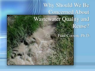 Why Should We Be Concerned About Wastewater Quality and Reuse?
