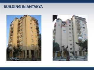 BUILDING IN  ANTAKYA