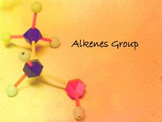 Alkenes Group