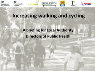 Increasing walking and cycling