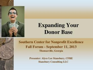 Expanding Your Donor Base