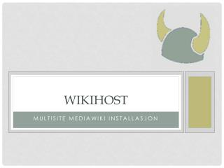Wikihost