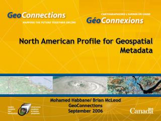 North American Profile for Geospatial Metadata