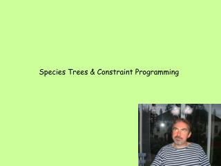 Species Trees & Constraint Programming
