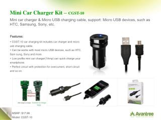 Mini Car Charger Kit –  CGST-10