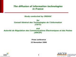 Press conference 22 November 2006
