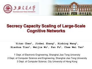 Secrecy Capacity Scaling of Large-Scale Cognitive Networks
