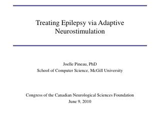 Treating Epilepsy via Adaptive Neurostimulation