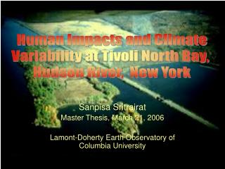 Sanpisa Sritrairat Master Thesis, March 21, 2006