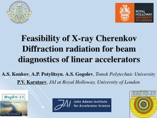Feasibility of X-ray Cherenkov Diffraction radiation for beam diagnostics of linear accelerators