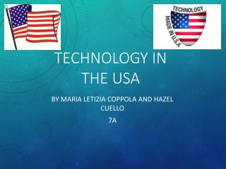 Technology in the USA