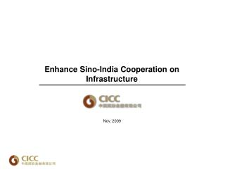 Enhance Sino-India Cooperation on Infrastructure