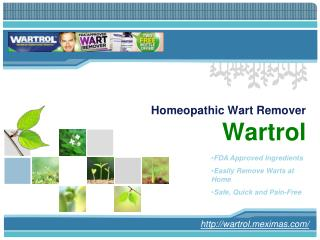 Buy Wartro and Remove Your Warts at Home Safely