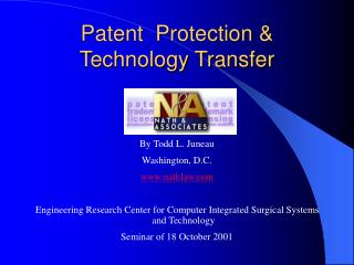 Patent  Protection  Technology Transfer