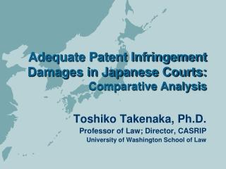 Compensation for Inventors in Japan