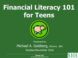 Financial Literacy 101 for Teens