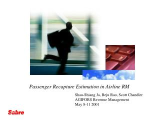 Passenger Recapture Estimation in Airline RM
