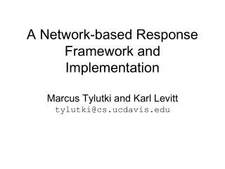 Properties of Current Response Systems