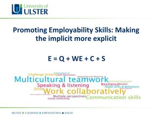 Promoting Employability Skills: Making the implicit more explicit