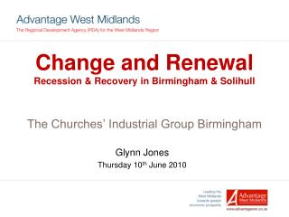 Glynn Jones Thursday 10 th June 2010