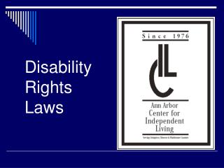 Disability Rights Laws