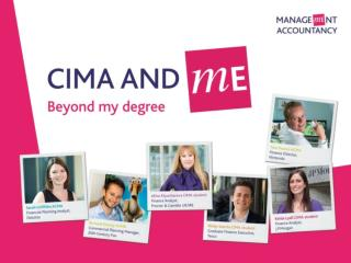 CIMA – Who we are What do employers want? What is Commercial Awareness? Why is it important?