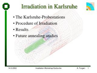 Irradiation in Karlsruhe