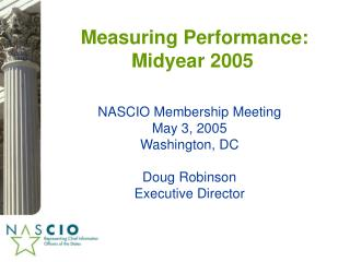 Measuring Performance: Midyear 2005