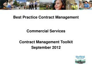 Best Practice Contract Management Commercial Services