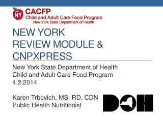 New  york Review Module &  CnpXpress