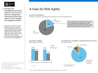 A Case for Risk Agility