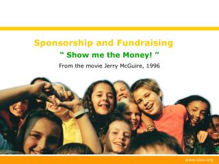 Sponsorship and Fundraising