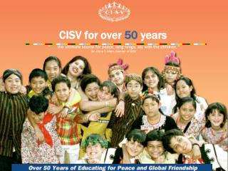 CISV for over 50 years