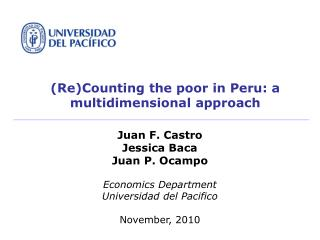 (Re)Counting the poor in Peru: a multidimensional approach